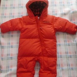 ❄Columbia Baby Red Down Filled Snowsuit❄